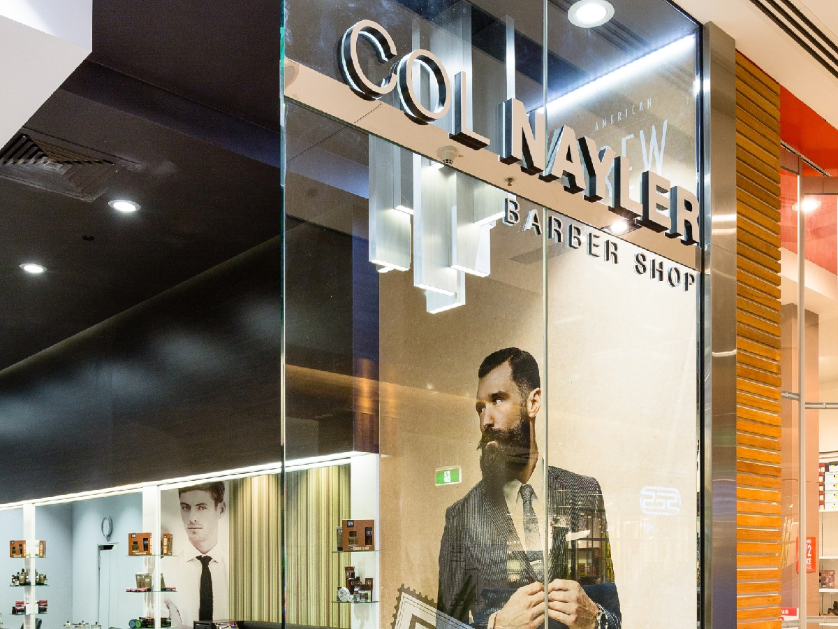 Col Nayler Carindale Barber Shop Brisbane. Market leader in men's hairdressing since the 1950s and an icon in the industry.