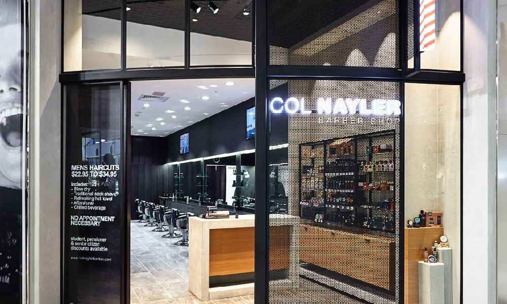 Col Nayler Barber Shop Chermside Level 2