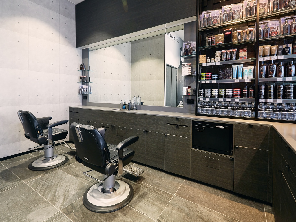 Col Nayler Barber Shop Newmarket