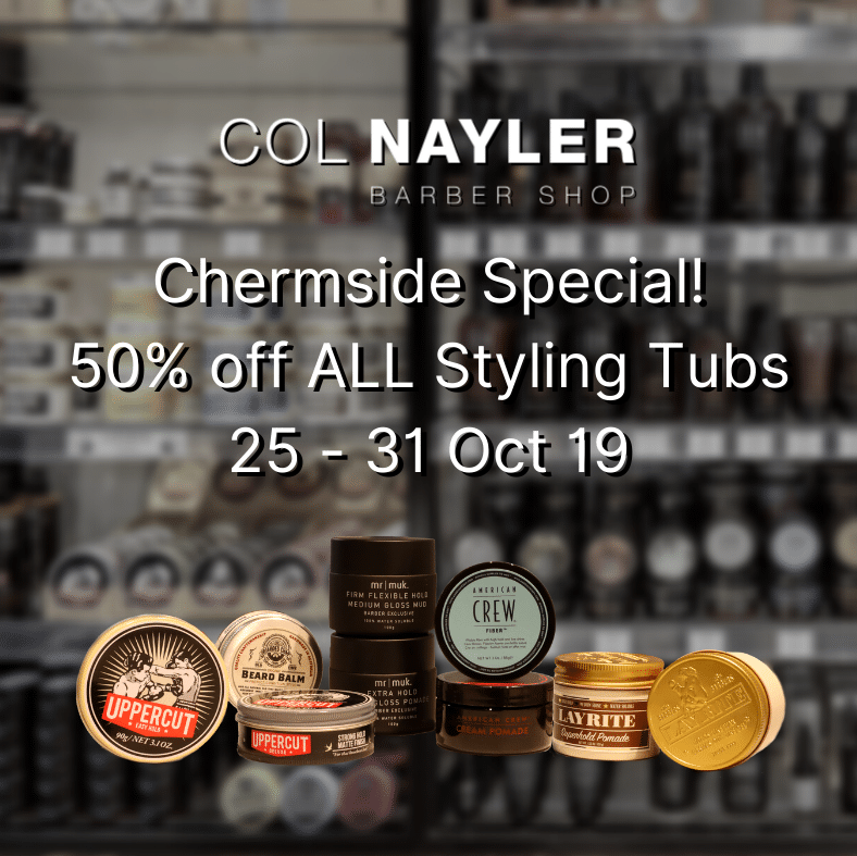 Chermside Special! 50% Off on ALL Styling Tubs 25-31 October