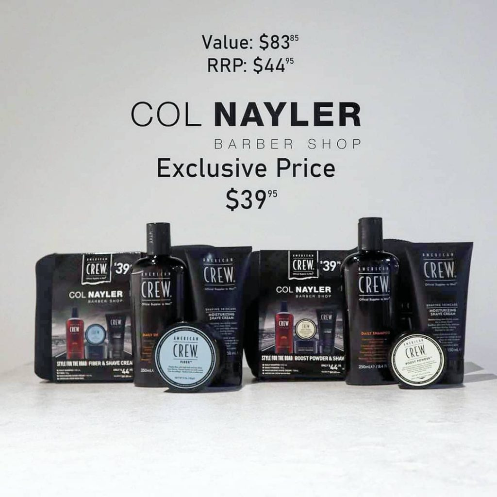 American Crew Col Nayler Exclusive Packs