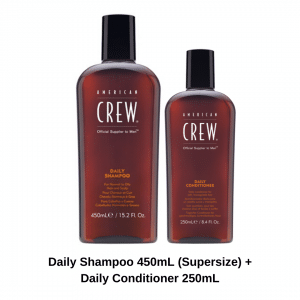American Crew Daily Shampoo and American Crew Daily Conditioner