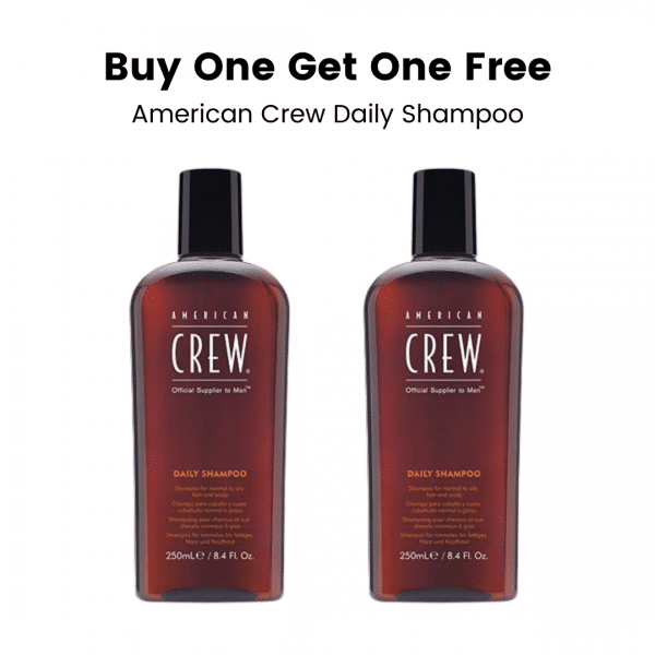 Buy One Get One Free American Crew Daily Shampoo
